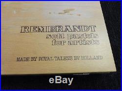 Rembrandt Artists Full Size Soft Pastels Wooden Box Set 150 Assorted 147 left