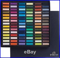 Rembrandt Soft Pastel Cardboard Box Set 90 Half Stick General Selection