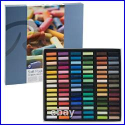 Rembrandt Soft Pastels Cardboard Box Set of 90 Half Sticks Assorted Colors