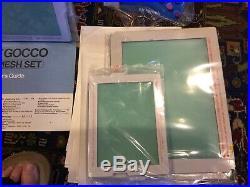 Riso Print Gocco Instant Multi-Color Printer B5 Hi Mesh Set In Box Many Extras