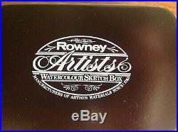 Rowney Watercolour Sketch Box