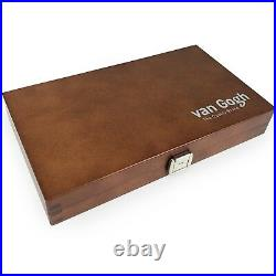 Royal Talens The National Gallery Watercolour Wooden Box 24 Pans + Brush