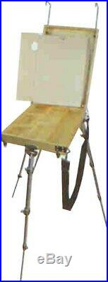 Easel Sketch Box Portable Folding Adjustable Height Beech Russian RUSSIA Russian