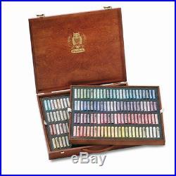 SCHMINCKE Finest Extra-Soft Artist Pastels, Set of 200 A Wood Box (77200097)