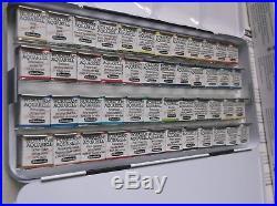 SCHMINCKE HORADAM Aquarell Watercolor Pan Paint Travel Tin Set Box 48 Half Pans