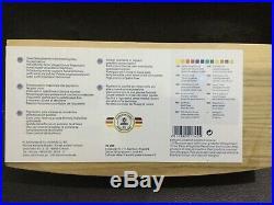 SCHMINCKE Horadam Promotion 2019 Watercolor Wooden Box Set 12 whole pans