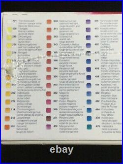 SCHMINCKE Horadam Watercolor 80 Half Pans Wooden Box Set Limited Edition