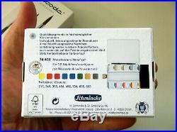 SCHMINCKE Horadam Watercolor Bijou Box w Flask Escoda Versatil Travel Brush Set