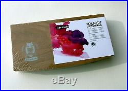 SCHMINCKE Horadam Watercolor Pan Set in Oak Wood Gift Box Limited Edition Set
