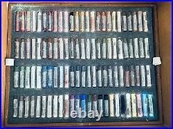SCHMINCKE Soft Pastels Full Set of 400 (minus 1) in Wood Box