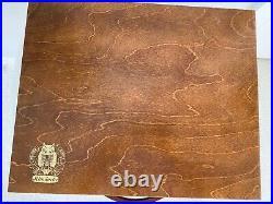 SCHMINCKE Soft Pastels Full Set of 400 (minus 1) in Wood Box Used