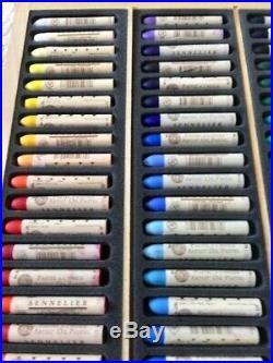 SENNELIER Oil Pastels Wooden Box 120 Count
