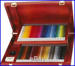 STABILO CarbOthello Artist Pastel Chalk Colouring Pencils Wooden Box of 60