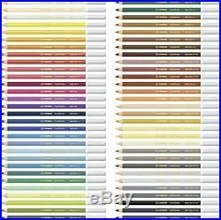 STABILO CarbOthello Metal Box of 60 colours Chalk-pastel coloured pencil