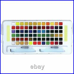 Sakura Koi Watercolour Paint Pocket Field Sketch Box Set of 72 Colours