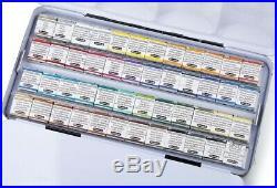 Schmincke Horadam Aquarell Artist Watercolor Metal Box Set of 48 Half Pans 74448