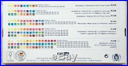 Schmincke Horadam Aquarell Artists' Watercolor 48 Half Pan Set- 74448- Metal Box