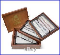 Schmincke Horadam Artists Watercolour 80 Half Pan Wooden Box Set 74767097
