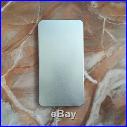 Scrub Empty watercolor palette paint tin box with 40 half pans