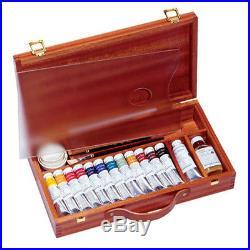 Sennelier Artist Egg Tempera Wood Box Set