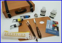 Sennelier Artists' Oils Wooden Box Set