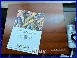 Sennelier Artists Soft Pastel Set of 100 Portrait Wooden Box