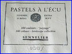 Sennelier Boxed 100-Count Extra Soft Landscape'Paysage' Pastels