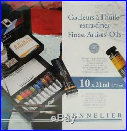 Sennelier Finest Artists' Oils Wooden Box Set