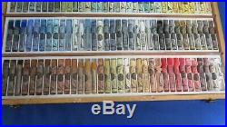 Sennelier French Soft Pastels 100 pc. Landscape Set in Wood Box