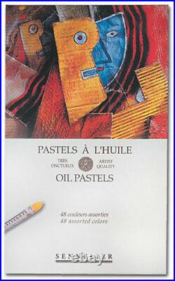 Sennelier Oil Pastels Cardboard Box Set of 48 Standard Assorted Colors