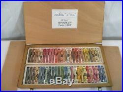 Sennelier Paris Extra Soft Pastels set of 50 Wooden Box