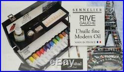 Sennelier Rive Gauche Wooden Box Set