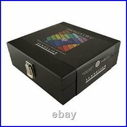 Sennelier Soft Pastel Black Wood Box Set of 60 Half Sticks
