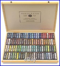 Sennelier Soft Pastels Professional Artists Pastels 100 Wooden Box Landscape