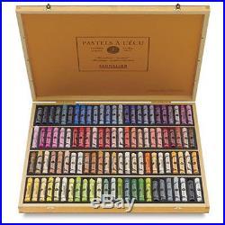 Sennelier Soft Pastels Professional Artists Pastels 100 Wooden Box Portrait
