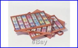 Sennelier Soft Pastels Professional Artists Pastels 525 The King Wooden Box