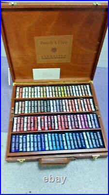 Sennelier Traditional Soft Pastels Selection Wooden Box Set of 175 Colours
