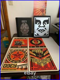 Shepard Fairey SUPPLY & DEMAND 20th Anniversary Box Set S/N OBEY Giant