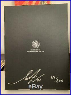 Shepard Fairey SUPPLY & DEMAND 20th Anniversary Box Set S/N OBEY Giant 111/400