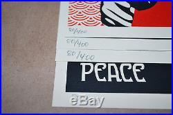 Shepard Fairey SUPPLY & DEMAND Boston ICA Box Set S/N + (4) Prints OBEY Giant