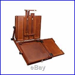 Sienna Plein Air Artist Pochade Box Easel Medium Brown (CT-PB-0910)