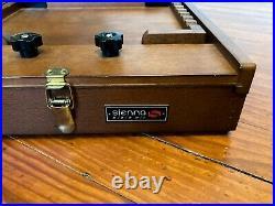 Sienna Plein Air Artist Pochade Box sM w palette & brush tray canvas up to 15