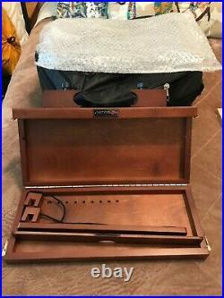 Sienna Plein Air Pochade Box, Artists' Adjustable Easel, Supply Box & Backpack