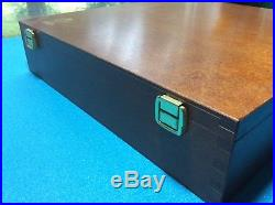 Soft pastel Schmincke 90 color wood box set unused near perfect
