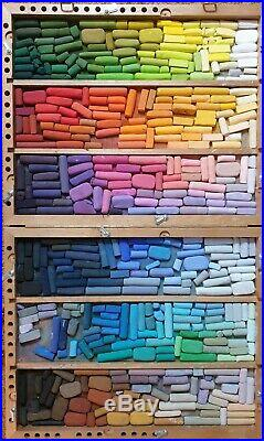 Soft pastels Edgmon large studio box Unison, Terry Ludwig, Senniler, Gerault