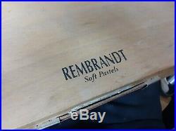 Soft pastels Large studio box 217 Rembrandt slightly used soft pastels