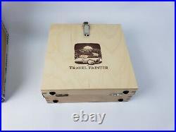 Travel Painter Pochade Box 8x 8 for Quick Plein-Air Trips Box Easel