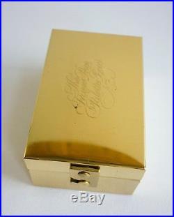 UNUSED! Vintage Rare The Frazer Price Brass Traveling Watercolour Palette Box