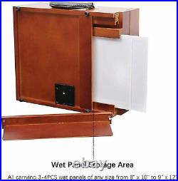 Ultimate Pochade Box, Lightweight French Box Easel for Plein Air Painting, Makes
