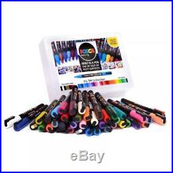 Uni POSCA Marker Pen PC-3M Fine 1.5mm Collection Box of 40 Assorted